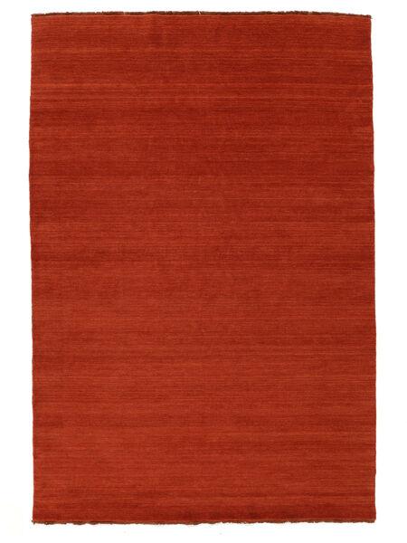 Handloom Fringes - Ruggine/Rosso Tappeto 160X230 Moderno Ruggine/Rosso/Arancione (Lana, India)