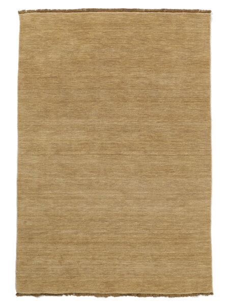 Handloom Fringes - Beige Tappeto 160X230 Moderno Beige Scuro/Beige (Lana, India)