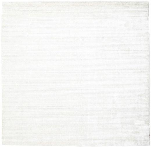Bambù Di Seta Loom - Chiaro Natural Tappeto 300X300 Moderno Quadrato Beige/Bianco/Creme Grandi ( India)