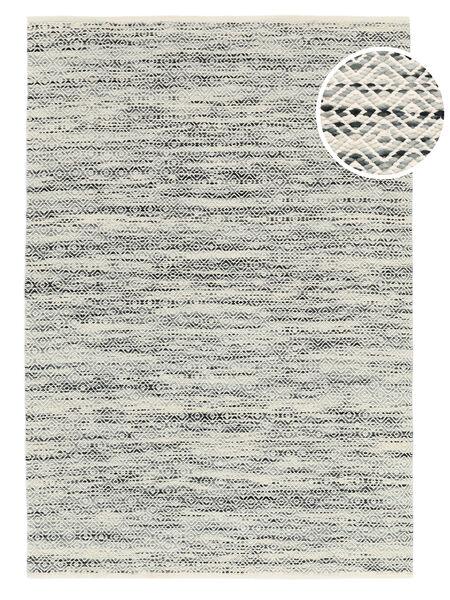 Hugo - Nero/Grigio Tappeto 200X300 Moderno Tessuto A Mano Grigio Chiaro/Beige Scuro ( India)