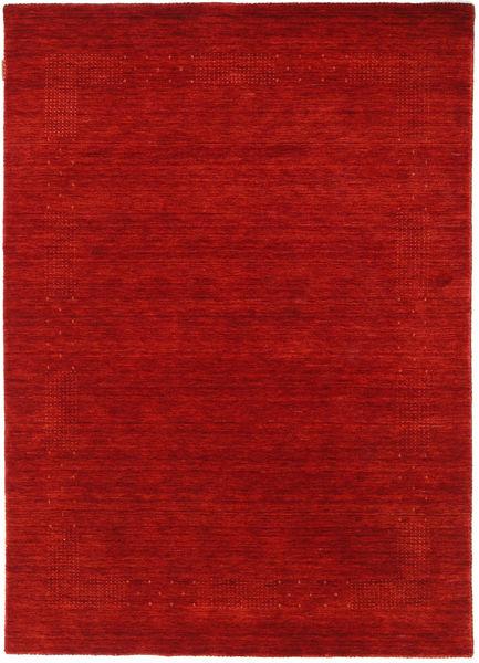 Loribaf Loom Beta - Rosso Tappeto 140X200 Moderno Ruggine/Rosso/Rosso Scuro (Lana, India)