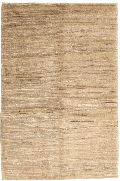 Gabbeh Persia Tappeto 104X153 Moderno Fatto A Mano Beige/Beige Scuro/Marrone Chiaro (Lana, Persia/Iran)