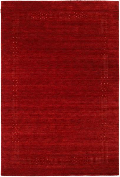 Loribaf Loom Beta - Rosso Tappeto 190X290 Moderno Rosso Scuro/Ruggine/Rosso (Lana, India)