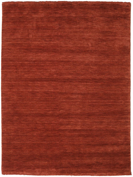 Handloom Fringes - Rosso Ruggine Tappeto 160X230 Moderno Ruggine/Rosso/Rosso Scuro (Lana, India)