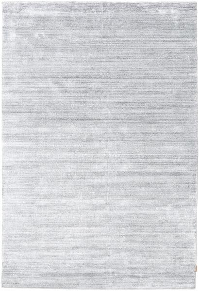 Bambù Di Seta Loom - Grigio Tappeto 300X400 Moderno Bianco/Creme/Grigio Chiaro Grandi ( India)
