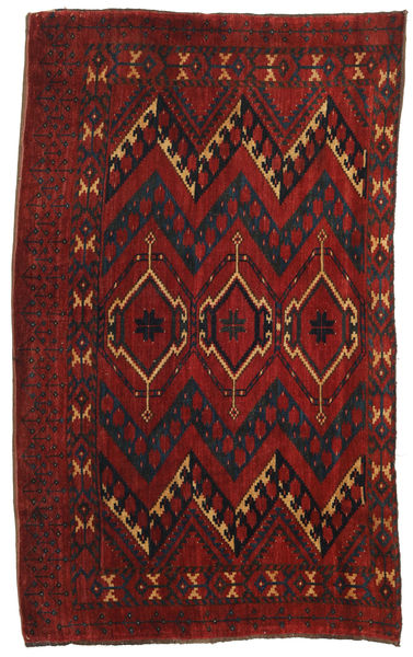 Afghan Khal Mohammadi Tappeto 146X174 Orientale Fatto A Mano Rosso Scuro/Marrone Scuro (Lana, Afghanistan)