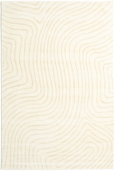 Woodyland - Beige Tappeto 200X300 Moderno Beige/Bianco/Creme (Lana, India)