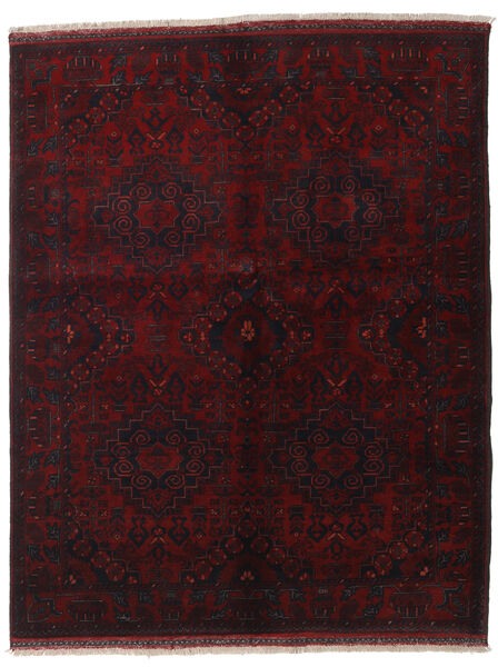 Afghan Khal Mohammadi Tappeto 155X192 Orientale Fatto A Mano Rosso Scuro (Lana, Afghanistan)