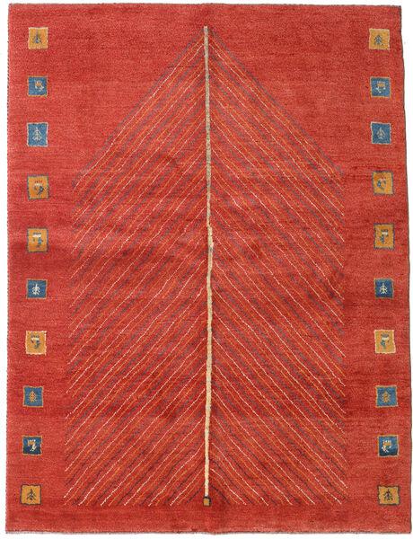 Gabbeh Persia Tappeto 152X204 Moderno Fatto A Mano Ruggine/Rosso/Rosso (Lana, Persia/Iran)