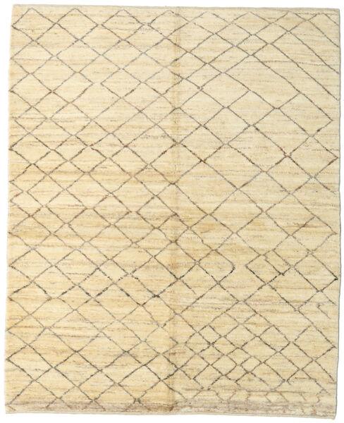 Gabbeh Persia Tappeto 159X197 Moderno Fatto A Mano Beige/Beige Scuro (Lana, Persia/Iran)