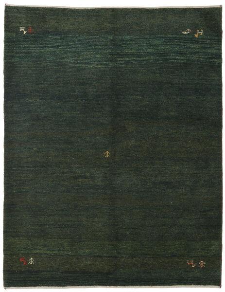 Gabbeh Persia Tappeto 151X195 Moderno Fatto A Mano Verde Scuro/Verde Scuro (Lana, Persia/Iran)