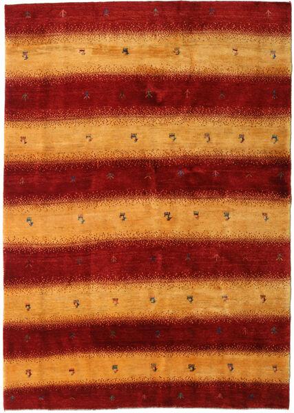 Gabbeh Persia Tappeto 174X248 Moderno Fatto A Mano Rosso Scuro/Marrone Chiaro (Lana, Persia/Iran)