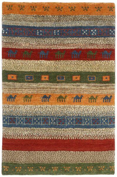 Gabbeh Persia Tappeto 120X178 Moderno Tessuto A Mano Marrone Scuro/Marrone (Lana, Persia/Iran)