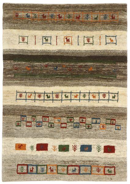 Gabbeh Persia Tappeto 125X182 Moderno Tessuto A Mano Grigio Chiaro/Beige (Lana, Persia/Iran)