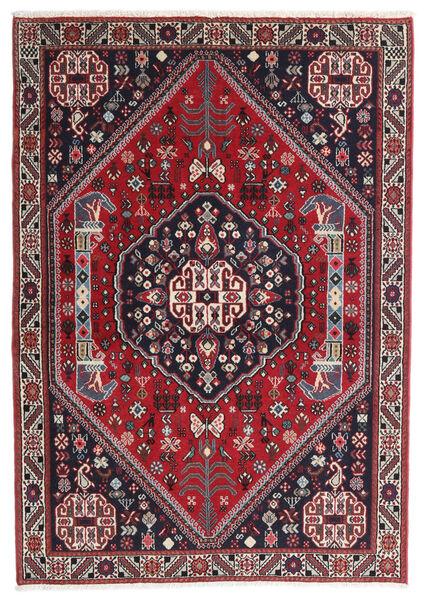Gabbeh Kashkooli Tappeto 100X142 Moderno Fatto A Mano Blu Scuro/Rosso (Lana, Persia/Iran)