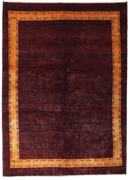 Gabbeh Kashkooli Tappeto 144X199 Moderno Fatto A Mano Rosso Scuro (Lana, Persia/Iran)