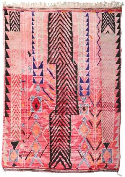 Berber Moroccan - Mid Atlas Tappeto 213X300 Moderno Fatto A Mano Rosa Chiaro/Rosa (Lana, Marocco)