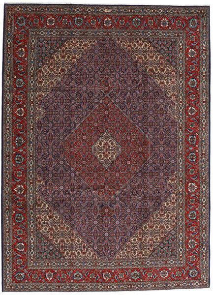 Tabriz 40 Raj Tappeto 252X344 Orientale Fatto A Mano Marrone Scuro/Rosso Scuro Grandi (Lana/Seta, Persia/Iran)