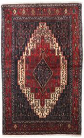 Senneh Tappeto 128X210 Orientale Fatto A Mano Marrone Scuro/Rosso Scuro (Lana, Persia/Iran)