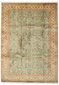 Cachemire Puri Di Seta Tappeto 223X313 Orientale Fatto A Mano (Seta, India)