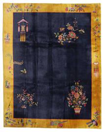 Cinesi Antichi: Art Deco 1920 Tappeto 280X355 Orientale Fatto A Mano Nero/Grigio Scuro Grandi (Lana, Cina)
