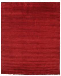 Handloom Fringes - Rosso Scuro Tappeto 250X300 Moderno Rosso Grandi (Lana, India)
