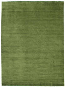 Handloom Fringes - Verde Tappeto 250X350 Moderno Verde Oliva Grandi (Lana, India)
