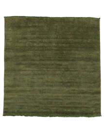 Handloom Fringes - Verde Tappeto 200X250 Moderno Verde Oliva/Verde Scuro (Lana, India)