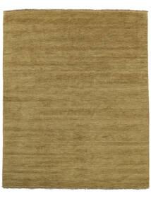 Handloom Fringes - Verde Oliva Tappeto 200X250 Moderno Verde Oliva/Marrone (Lana, India)