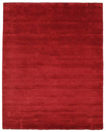 Handloom Fringes - Rosso Scuro Tappeto 200X250 Moderno Rosso (Lana, India)