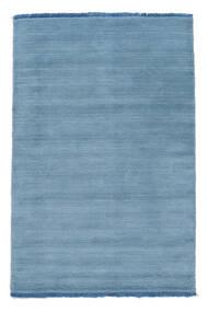 Handloom Fringes - Azzurro Tappeto 160X230 Moderno Azzurro (Lana, India)