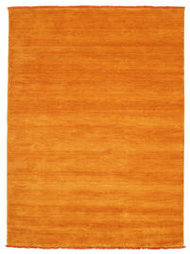 Handloom Fringes - Arancione Tappeto 140X200 Moderno Arancione/Marrone Chiaro (Lana, India)