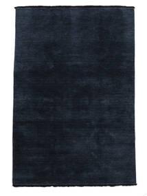 Handloom Fringes - Blu Scuro Tappeto 140X200 Moderno Blu Scuro/Blu (Lana, India)