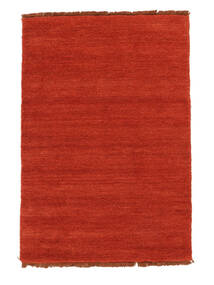 Handloom Fringes - Ruggine/Rosso Tappeto 140X200 Moderno Ruggine/Rosso (Lana, India)