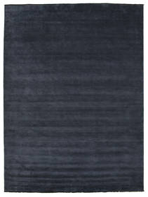 Handloom Fringes - Blu Scuro Tappeto 300X400 Moderno Blu Scuro Grandi (Lana, India)