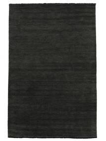 Handloom Fringes - Nero/Grigio Tappeto 250X350 Moderno Grigio Scuro Grandi (Lana, India)