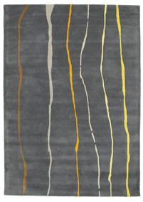Flaws Handtufted - Grigio Tappeto 160X230 Moderno Grigio Scuro/Grigio Chiaro (Lana, India)