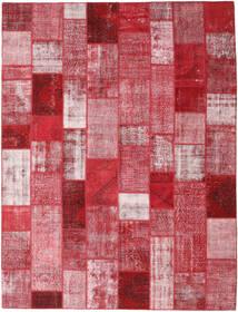 Patchwork Tappeto 302X399 Moderno Fatto A Mano Rosso/Rosa Chiaro Grandi (Lana, Turchia)
