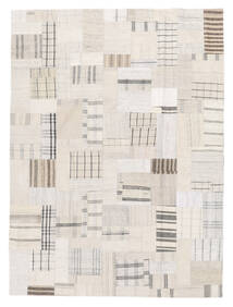 Kilim Patchwork Tappeto 170X229 Moderno Tessuto A Mano Beige/Bianco/Creme (Lana, Turchia)