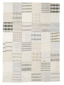 Kilim Patchwork Tappeto 171X240 Moderno Tessuto A Mano Beige/Bianco/Creme (Lana, Turchia)