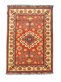 Afghan Kargahi Tappeto 84X122 Orientale Fatto A Mano Rosso/Beige Scuro (Lana, Afghanistan)