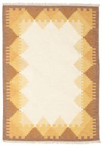 Kilim Dorris - Marrone Tappeto 140X200 Moderno Tessuto A Mano Beige/Marrone Chiaro (Lana, India)