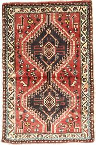 Ghashghai Tappeto 97X150 Orientale Fatto A Mano Marrone Scuro/Rosso Scuro (Lana, Persia/Iran)