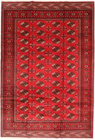Turkaman Tappeto 201X293 Orientale Fatto A Mano Ruggine/Rosso/Rosso Scuro/Rosso (Lana, Persia/Iran)