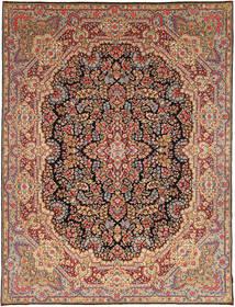 Kirman Sherkat Farsh Tappeto 297X382 Orientale Fatto A Mano Marrone Scuro/Rosso Scuro Grandi (Lana, Persia/Iran)