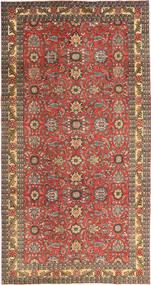 Tabriz Patina Tappeto 168X318 Orientale Fatto A Mano Rosso Scuro/Marrone Chiaro (Lana, Persia/Iran)
