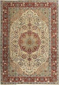 Tabriz Patina Tappeto 205X298 Orientale Fatto A Mano Marrone/Marrone Chiaro (Lana, Persia/Iran)