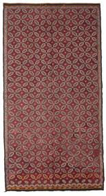 Kilim Semi-Antichi Turchi Tappeto 178X335 Orientale Tessuto A Mano Rosso Scuro/Rosa (Lana, Turchia)