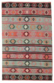 Kilim Semi-Antichi Turchi Tappeto 186X290 Orientale Tessuto A Mano Grigio Chiaro/Marrone (Lana, Turchia)