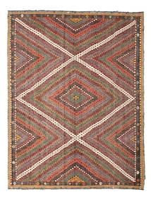 Kilim Semi-Antichi Turchi Tappeto 210X271 Orientale Tessuto A Mano Marrone Chiaro/Rosso Scuro (Lana, Turchia)